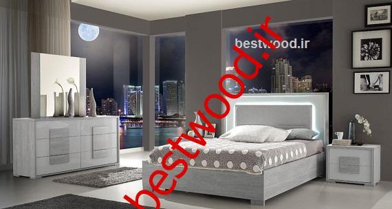 قیمت سرویس خواب دونفره چوبی